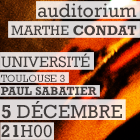 Université Paul Sabatier – Grand Auditorium – 05 décembre 2016