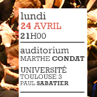 Université Paul Sabatier – Auditorium Marthe Condat – 24 avril 2017