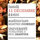 Université Paul Sabatier – Auditorium Marthe Condat – 11 décembre 2017