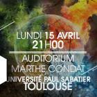 Université Paul Sabatier – Auditorium Marthe CONDAT
